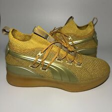 Puma Clyde Court Disrupt Title Run Sneakers Basketball Shoes 192898-01 Size 10.5