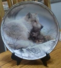 The Bradford Exchange A Mother's Warmth LimitedEdition plate #3013B