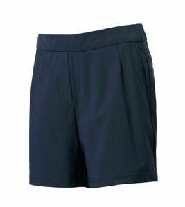 "Nike Dri-Fit Womens Size XS & M 11"" Bermuda Golf Shorts Dark Navy AJ5663-451 NWT"