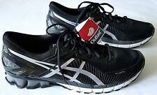 New ASICS GEL-Kinsei 6 Black/Glacier Grey/Carbon Expert Running Shoes Size 15