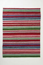 "NEW ANTHROPOLOGIE STRIPE SPICE RUG BY PAOLA NAVONE 24"" X 36"" 61CM X 91CM"