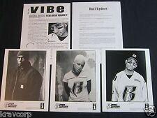 Eve/Swizz Beatz/Drag On 'Ryde Or Die' 1999 Press Kit—3 Photos—Ruff Ryders
