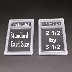 100 New Professional Unsealed Empty Graded Card Slabs Holder for Grading