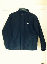 NEW MENS FILA BLACK JACKET SMALL 38