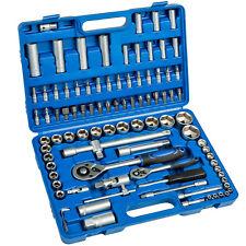 Werkzeugkoffer 94 tlg Knarrenkasten Nusskasten Ratschenkasten Steckschlüsselsatz