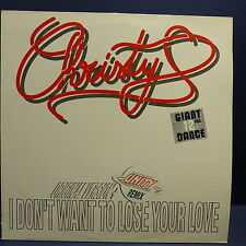 "MAXI 12"" CHRYSTY I don't want to lose your love 14286-6"