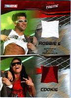 TNA Robbie E Cookie 2010 Xtreme GOLD Event Worn Shirt Memorabilia Card 14 of 50