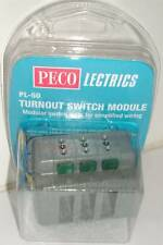 Peco PL-50 Turnout Switch Module. NEW  (Model Railways)
