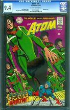 CGC (D.C) ATOM #38 NM 9.4 1968 OFF WHITE TO WHITE PAGES 0161440007