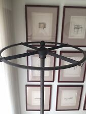 Round Industrial Age Clothing Rack Retro
