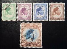 LIBYA / LIBIË 1952 between MI.NR. 36-42