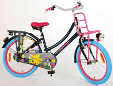 "Girls Bike Chupa Chups 20"" Inch Girls Dutch Style Coaster Brake Carrier Black"