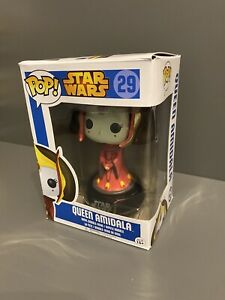 Funko Pop! - Star Wars #29 Queen Amidala with soft pop protector included