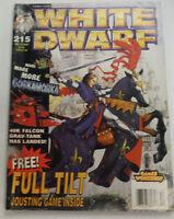 White Dwarf Magazine Gorkamorka Grav-Tank No.215 103114R