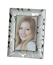 Modern Photo Picture Frame from Aluminum Silver 10x15 CM (Variant 3)