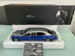 Bentley Mulsanne Grand Limousine by Mulliner limited in 1:18