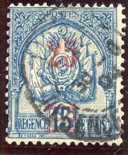TIMBRE COLONIES FRANCAISES / TUNISIE OBLITERE N° 28