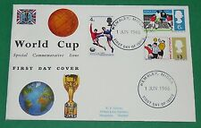 1er JOUR TIMBRE 1966 WORLD CUP FOOTBALL ENGLAND 66 FIFA RIMET CUP ANGLETERRE