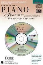 Accelerated Piano Adventures for Older Beginner Book 1 2-Cds Only 000420083