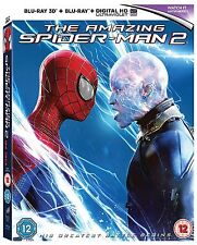 THE AMAZING SPIDER-MAN 2 - 3D BLU RAY + BLU RAY - NEW / SEALED - UK STOCK