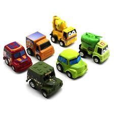 6pcs/Set Kids Boys Nursery Mini Pull Back Cars Truck Vehicle Model Figure Gift