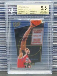 1996-97 Fleer Ultra Scottie Pippen Court Masters #4 Bulls BGS 9.5 O591