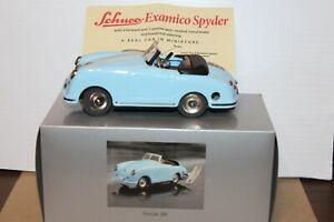 VERY NICE SCHUCO EXAMICO 356 PORSCHE ROADSTER in BOX