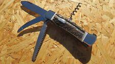 Testa duro caccia Coltellino Coltello Coltello da caccia aufbrechklinge Hirsch CORNO 322911