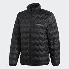 Adidas Originals Serrado Chaqueta Hombre Negro Blanco BR4774