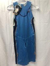 Womens Ironman Activewear Extreme Bodysuit Sea Blue Size L. Retails $159.99 Nwt