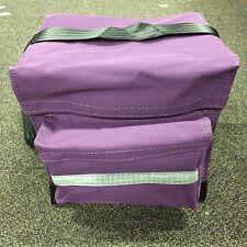 Canvas Mining Tool Bag/Crib Bag toolbag 100% Australian Made Hi Vis Purple