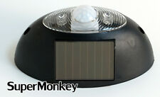 Solar Powered Motion Detector Sound & Lights Security Alarm