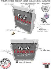 1955 1956 1957 Ford Thunderbird 3 Row Rockin Champion Radiator