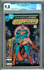 """Crisis on Infinite Earths #7 (1985) CGC 9.8  White Pages Perez   """"Supergirl"""""""