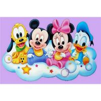 DIY 5D Full Drill Diamond Painting kit Mickey Mouse Cross Stitch Home Decor