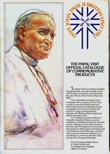 POPE JOHN PAUL II 1982 UK VISIT - 16-Page Catalogue of Commemorative Products
