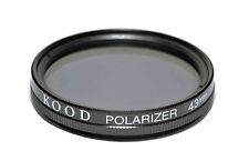 Kood Linear Polarizing Filter Made in Japan 43mm