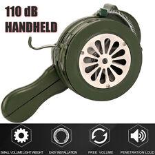 Handheld Loud Hand Crank Manual Operated Air Raid Alarm Portable Siren Safurance