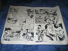 DICK GIORDANO COLLECTION Superman vs Muhammad Ali ~SIGNED Neal Adams Art Splash