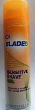 Boots Blade 5 Sensitive Shave Gel With Aloe & Vitamin E 200ml