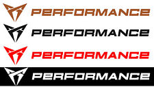 Cupra Performance Aufkleber Sticker Power Tuning Styling Motor Stripes