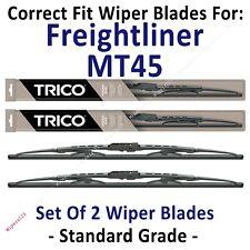 Wiper Blades 2-Pack Standard - fit 1998-2007 Freightliner MT45 - 30240x2