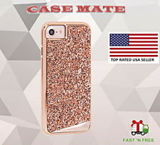 Case Mate Brilliance Tough Crystal Case Rose Gold Cover iPhone 8 & iPhone 7