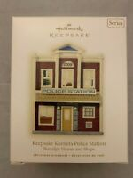 Hallmark Ornament Keepsake Nostalgic Houses & Shops Korners Police Station 2009