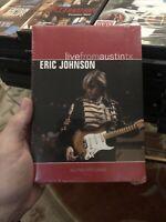 Eric Johnson - Live from Austin, Texas (DVD, 2005)