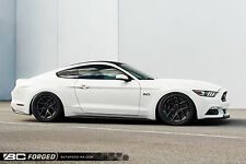 Ford Mustang BC Forged 19 Inch Monoblock Custom Wheel Package Concave Race