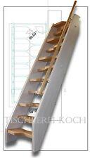 Kostenvoranschlag für eine kleine Raumspartreppe, gerade Treppe aus Buche