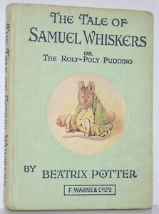 Vintage Old Undated The Tale of Samuel Whiskers Beatrix Potter Warne Unknown Ed