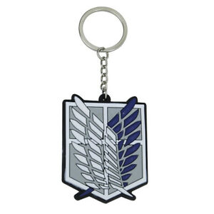 Attack on Titan double sided PVC key chain
