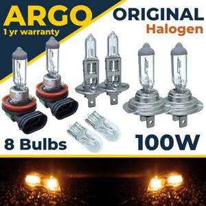 For Renault Megane MK2 Halogen Headlight Bulbs Fog Side Light bulbs 2002-2009